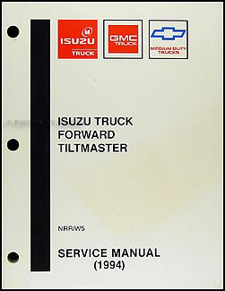 1994 NRR & W5 Truck Repair Manual Original