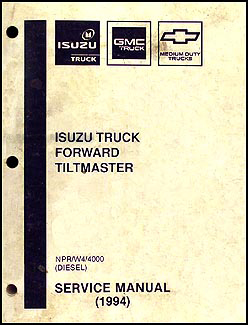 1994 NPR & W4 Diesel Repair Manual Reprint