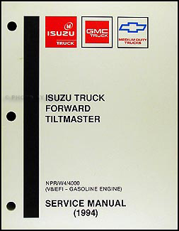 1994 NPR & W4 Gas Repair Manual Original
