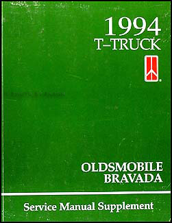 1994 S/T Pickup and SUV 4L60-E Automatic Transmission Repair Shop Manual