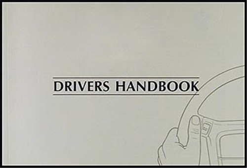 1999 Jaguar XJ8 and XJR Owner's Manual Original
