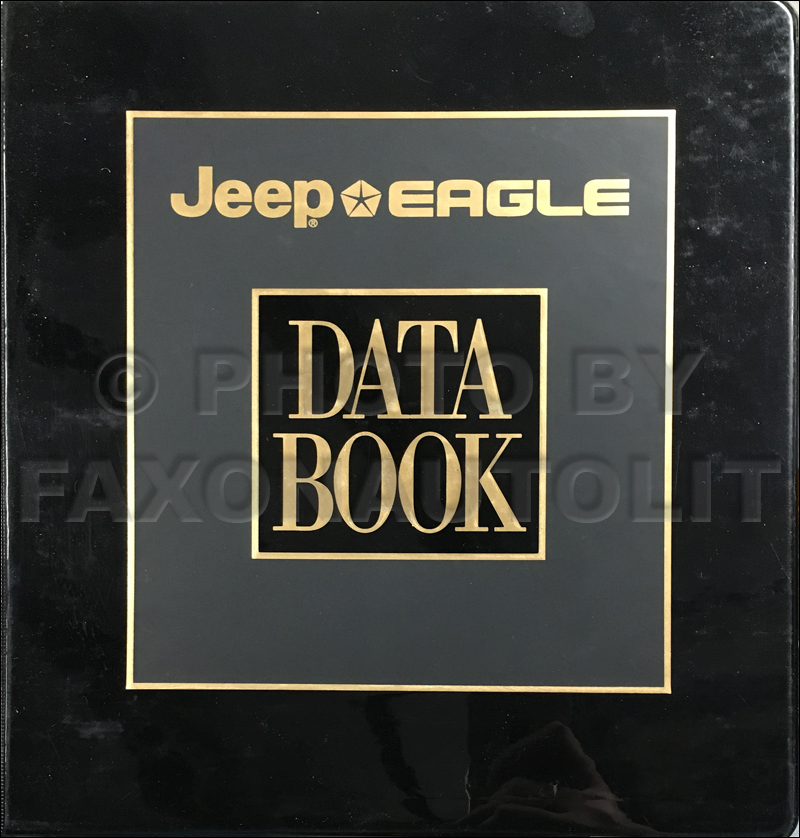 1994 Jeep/Eagle Color & Upholstery Album and Data Book Original