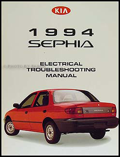 1994 Kia Sephia Electrical Troubleshooting Manual Original