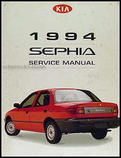 1994 Kia Sephia Repair Manual Original