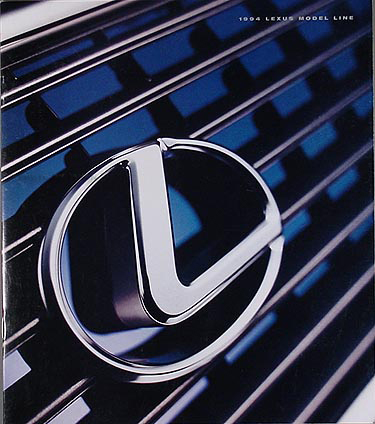 1994 Lexus Sales Catalog Original--All Models