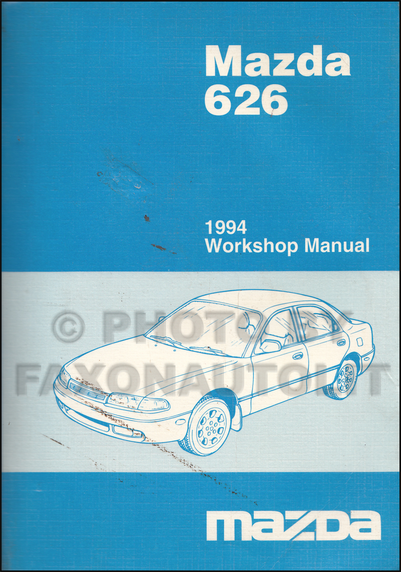 1994 Mazda 626 & MX-6 Repair Manual Original · Table of Contents. click on  thumbnail to zoom