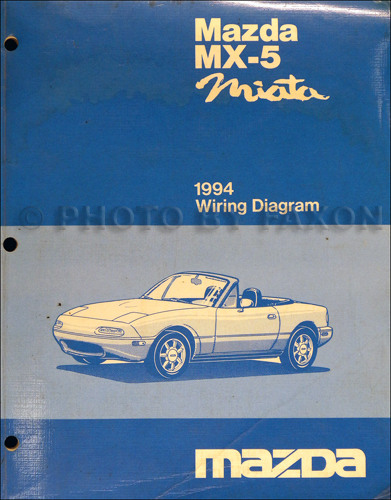 1994 mazda mx 5 miata electrical wiring diagram original 1995 mazda mx 5 miata repair manual original
