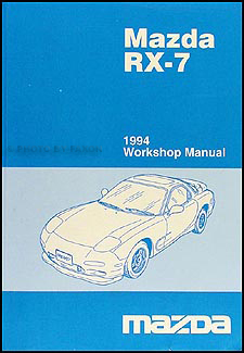 1994 Mazda RX-7 Repair Manual Original