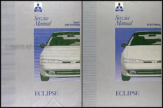 1992-1994 Mitsubishi Eclipse Repair Manual Set Original