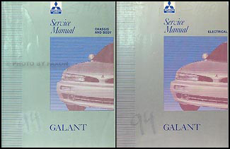 1994 Mitsubishi Galant Repair Manual Set Original
