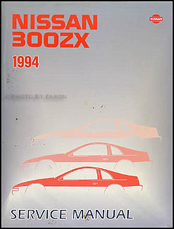 1994 Nissan 300ZX Repair Manual Original