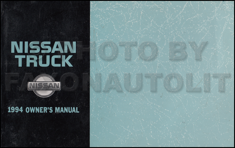 1994 Nissan Truck And Pathfinder Wiring Diagram Manual