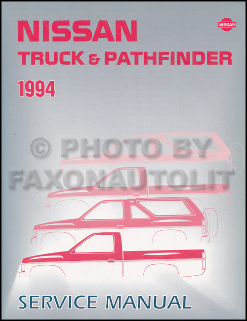1992 Nissan Truck/Pathfinder Repair Manual Original