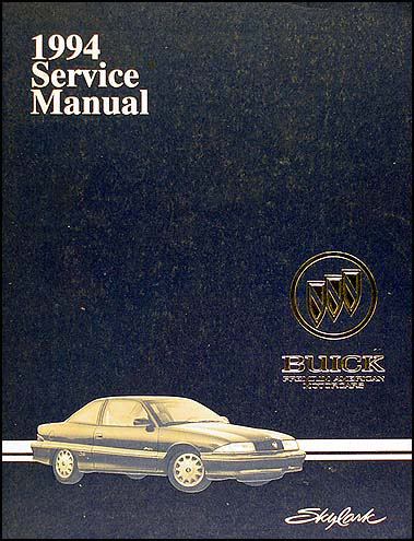 1994 Buick Skylark Shop Manual Original