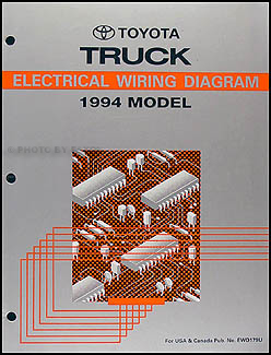 Wiring Diagram For 1994 Toyota Pickup - Wiring Diagram ... on