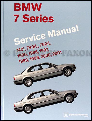 1995-2001 BMW 7- Series Repair Manual