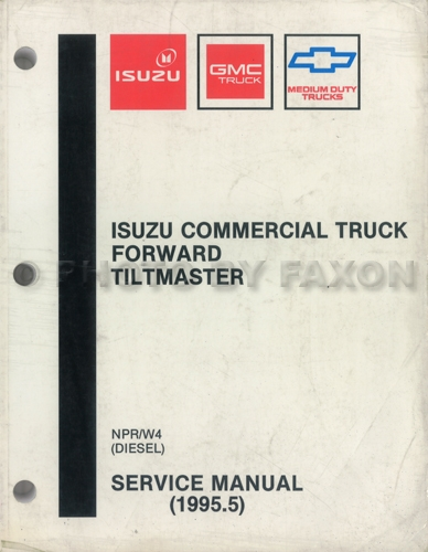 1993 NPR & W4 Diesel Repair Manual Original