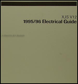 1995-1996 Jaguar XJS V12 Electrical Guide Wiring Diagram Original