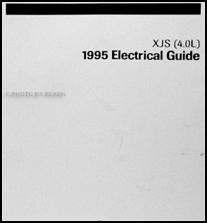 1995-1996 Jaguar XJS 4.0L Electrical Guide Wiring Diagram Original on
