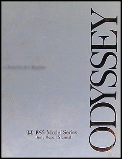 1995-1998 Honda Odyssey Body Repair Manual Original