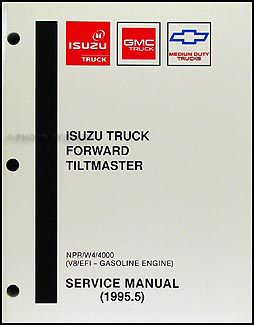 1995.5 NPR & W4 Gas Repair Manual Original