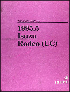 1995.5 Isuzu Rodeo & Honda Passport Repair Manual Original
