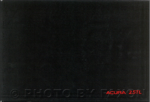1995 Acura TL Owners Manual Original 2.5TL