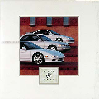 1995 Acura Sales Catalog Original--All Models