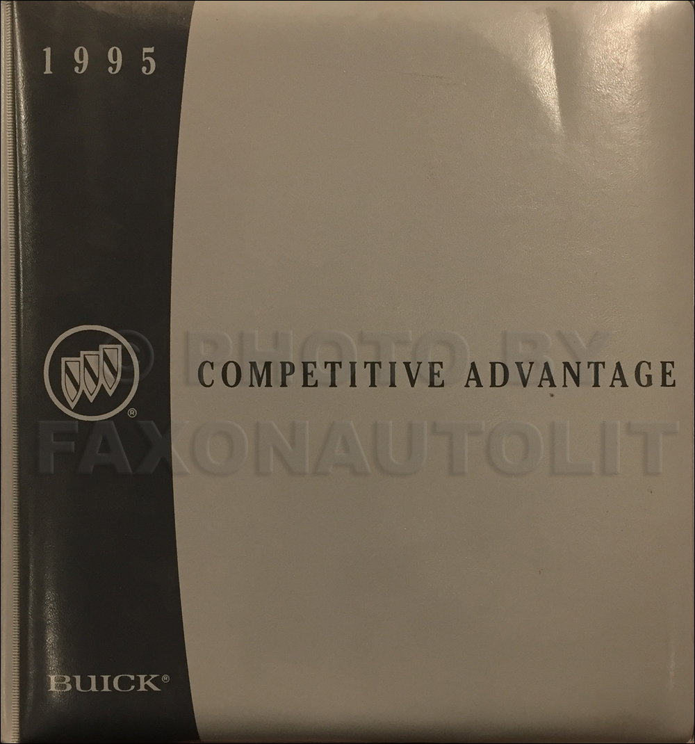 1995 Buick Competitive Comparison Dealer Album Original