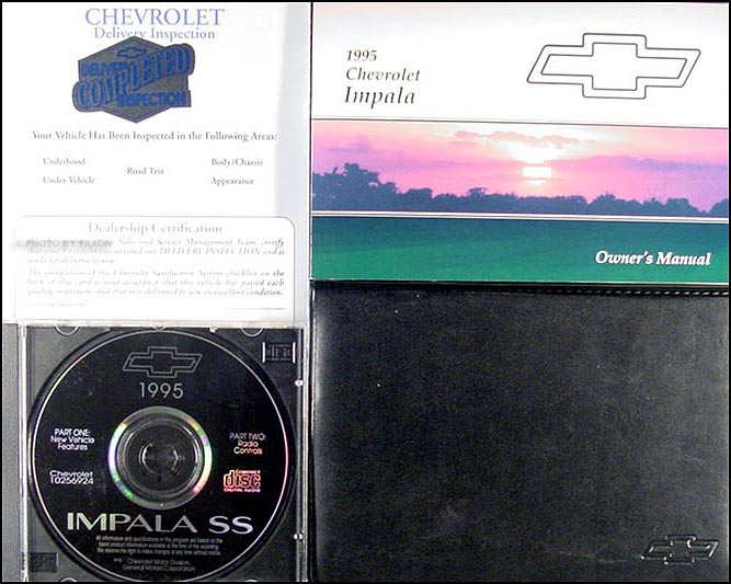 1995 Chevy Impala SS Owner's Manual with CD Original Package