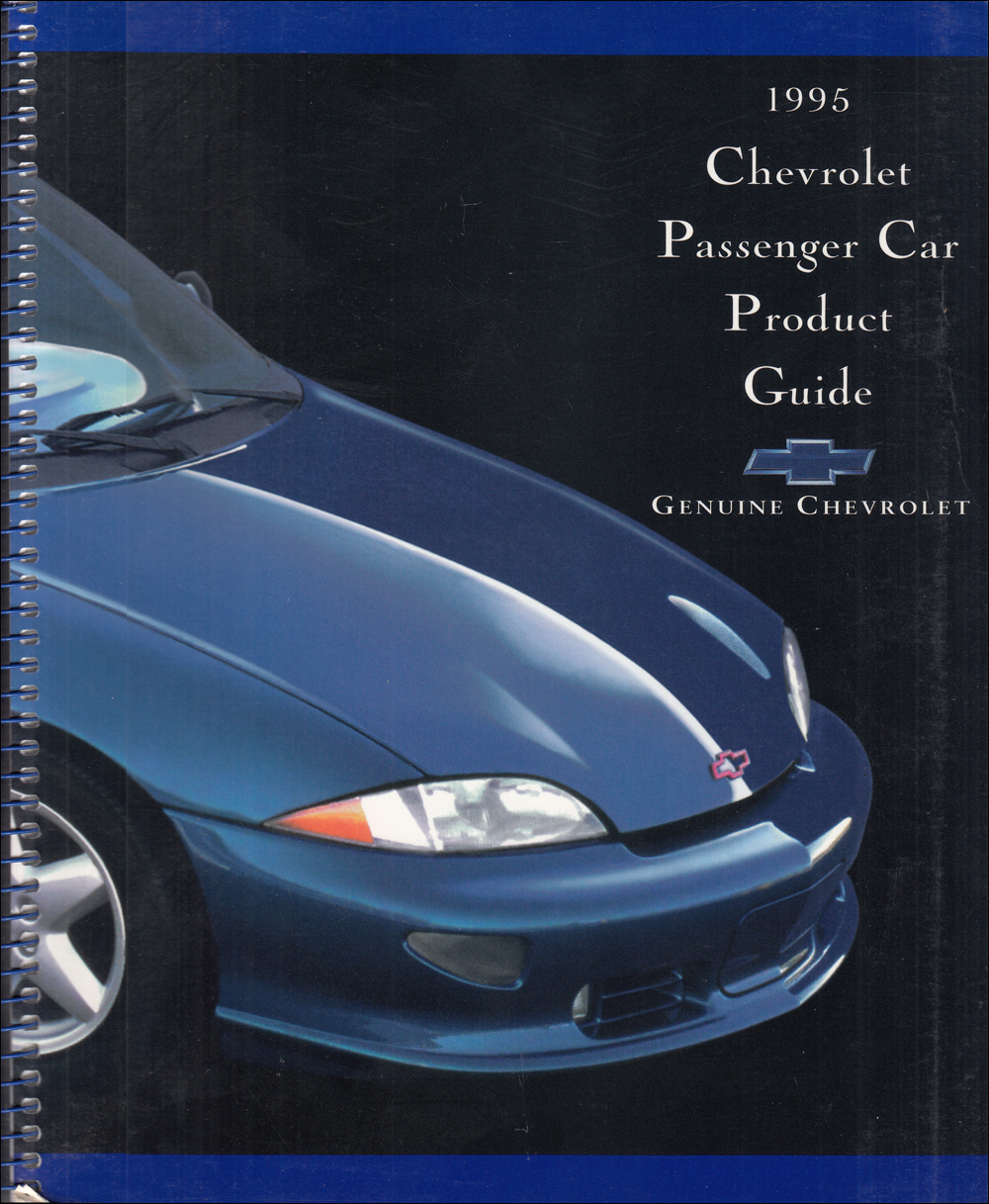 1995 Chevrolet Car Color & Upholstery Dealer Album/Data Book Original
