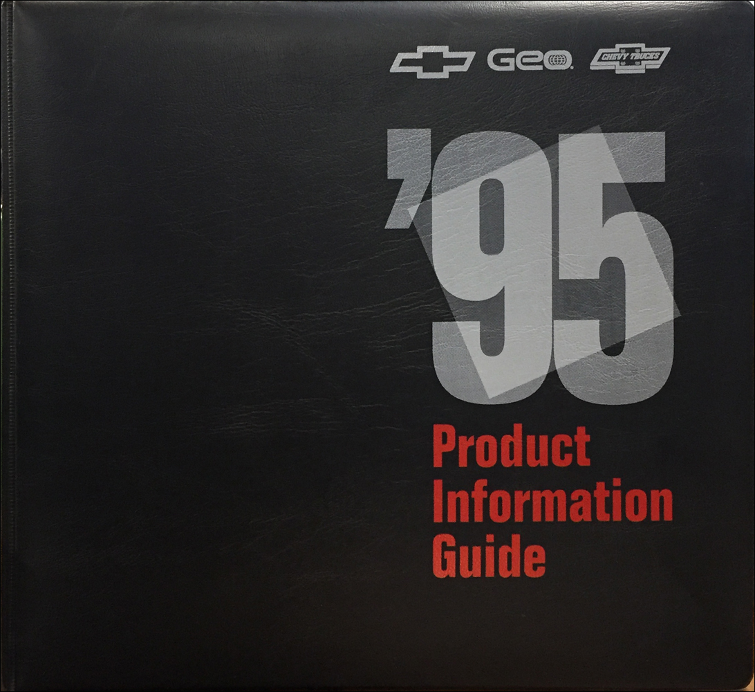 1995 Chevrolet Technical Press Kit Original