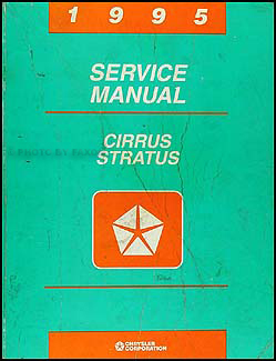 1995 Cirrus & Stratus Shop Manual Original