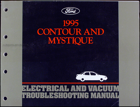1995 Ford Contour Mercury Mystique Electrical Troubleshooting Manual