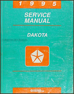 1995 Dodge Dakota Repair Manual Original
