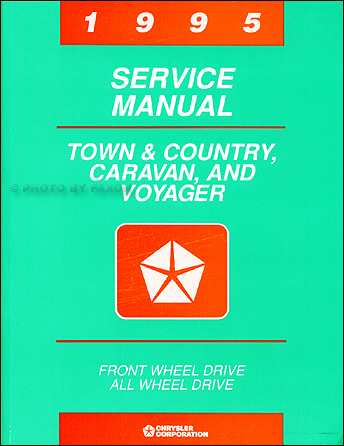 1995 Caravan, Town & Country, Voyager Shop Manual Original