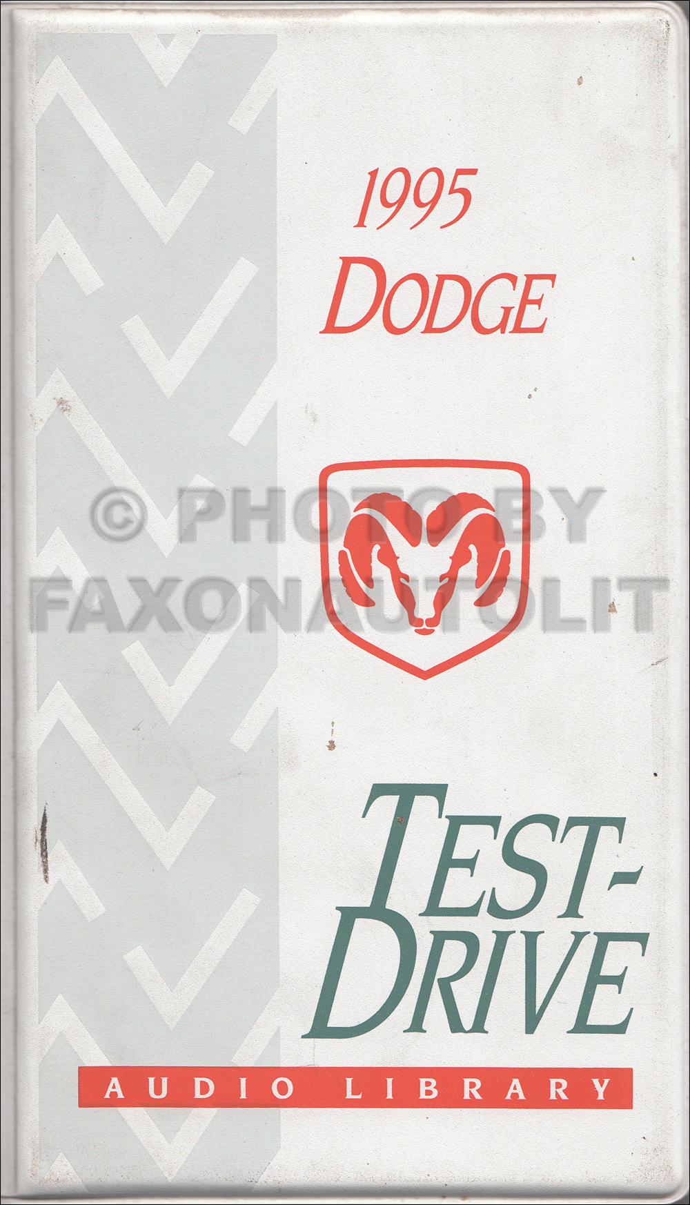 1995 Dodge Test Drive Audio Cassettes Original