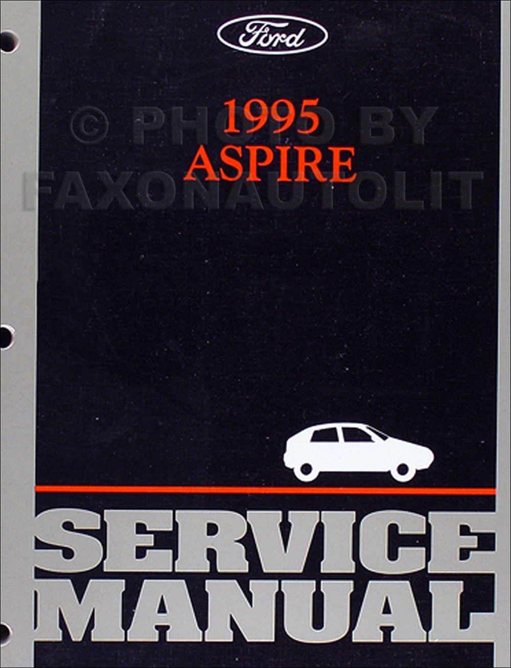 1995 Ford Aspire Electrical And Vacuum Troubleshooting Manual Original Wiring Diagram Repair Shop