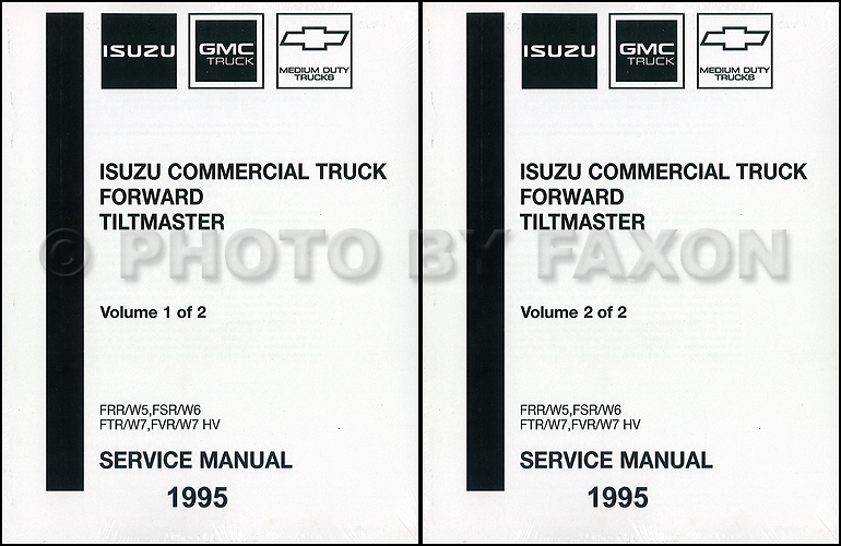 1995-1996 FRR, W5, FSR, W6, FTR, FVR, W7 Repair Manual Original