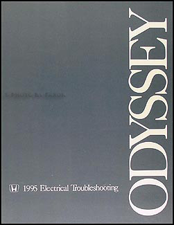 1995 Honda Odyssey Electrical Troubleshooting Manual Original