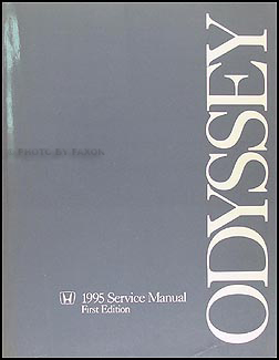 1995 Honda Odyssey Repair Manual Original