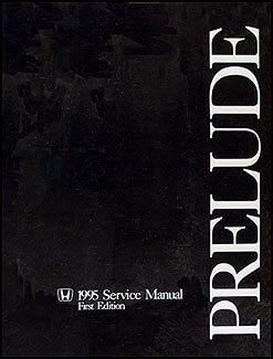 1995 Honda Prelude Repair Manual Original