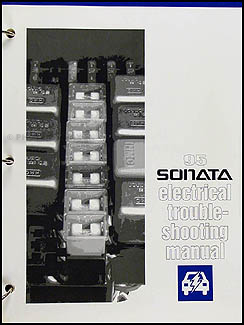 1995 Hyundai Sonata Electrical Troubleshooting Manual Original