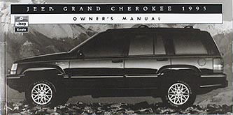 1995 Jeep Grand Cherokee Original Owner's Manual