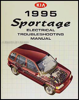 1995 Kia Sportage Electrical Troubleshooting Manual Original