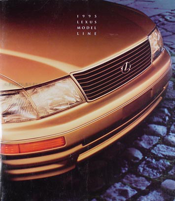1995 Lexus Sales Catalog Original--All Models