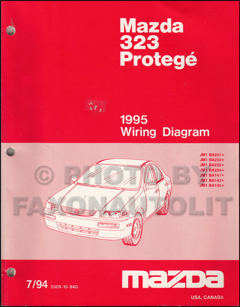 Diagram  199mazda 323 Service Repair Shop Manual Set Oem Service Manual And The Wiring Diagrams