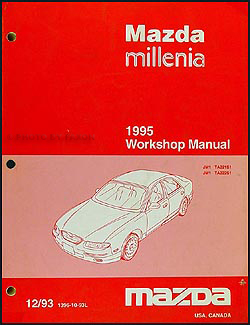 1995 Mazda Millenia Repair Manual Original