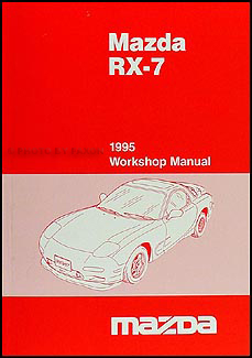 1995 Mazda RX-7 Repair Manual Original