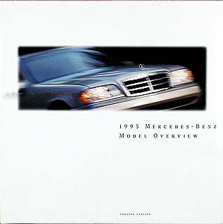 1995 Mercedes Sales Brochure Original--All Models